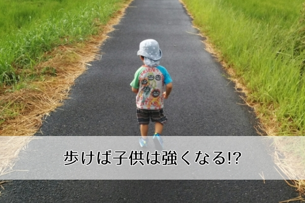 2歳から散歩は毎日2km以上!?子供をサッカー選手に